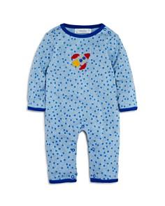 Albetta - Boys' Star-Print Crochet-Rocket Coverall, Baby - 100% Exclusive