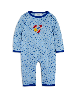 Albetta Boys' Star-Print Crochet-Rocket Coverall, Baby - 100% Exclusive