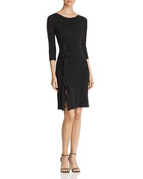 Emporio Armani - Side Ruffled A-Line Dress