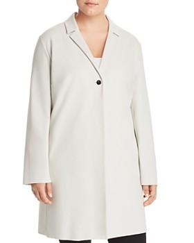 Lafayette 148 New York Plus - Primal Strokes Printed Modern Slim Skirt