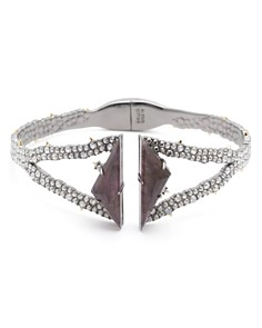Alexis Bittar - Break Faceted Amethyst Hinge Bracelet