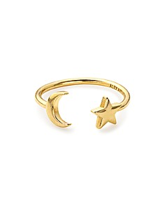 Alex and Ani Moon and Star Adjustable Wrap Ring - Bloomingdale's_0