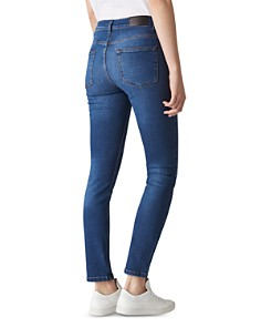 Whistles - High Rise Skinny Jeans in Blue
