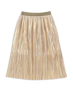 kate spade new york Girls' Pleated Iridescent Skirt - Big Kid - Bloomingdale's_0