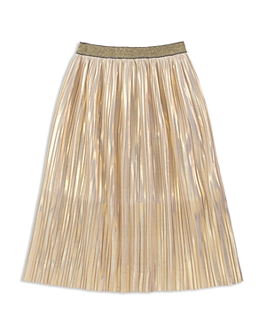 kate spade new york Girls Pleated Iridescent Skirt  Big Kid