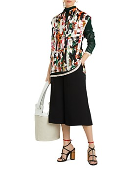 Burberry - Hen Archive Print Mulberry Silk Top