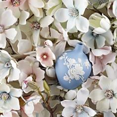 "Wedgwood - Magnolia Blossom Bud Vase, 5"""