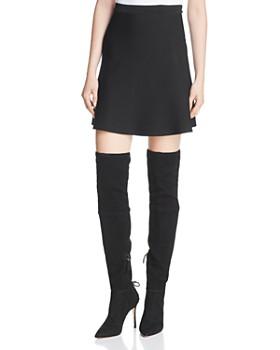 Theory - Flared Mini Skirt