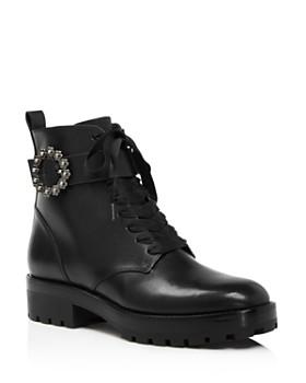 MICHAEL Michael Kors - Women's Ryder Leather Booties - 100% Exclusive