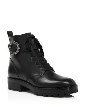 Michael Michael Kors Women's Ryder Leather Booties 3027669