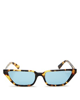 Vogue Eyewear - Women's Gigi Hadid for Vogue Slim Square Cat Eye Sunglasses, 53mm