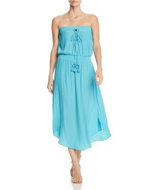 STEPHANIE STRAPLESS DRESS