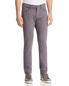 PAIGE - Federal Slim Fit Jeans in Grey Fog