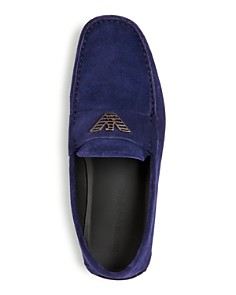 Armani - Men's Suede Moc Toe Drivers