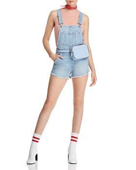 Joe's Jeans - Denim Shortalls in Kellsie