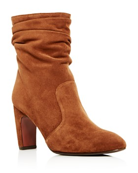 Chie Mihara - Women's Jazz Suede Slouch High-Heel Boots
