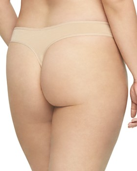 Calvin Klein - Plus Form Cotton Thong