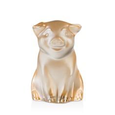 Lalique - Pig Sculpture