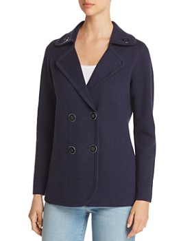 NIC and ZOE - Polished Knit Peacoat