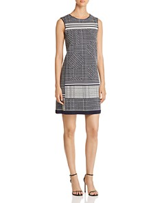 NIC and ZOE - Forefront Printed Shift Dress