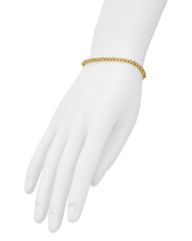 AQUA - Pavé Slider Bracelet in 18K Gold-Plated Sterling Silver or Sterling Silver - 100% Exclusive