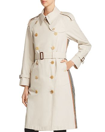 e364ff9f4 Burberry Trecastle Stripe Trench Coat | Bloomingdale's