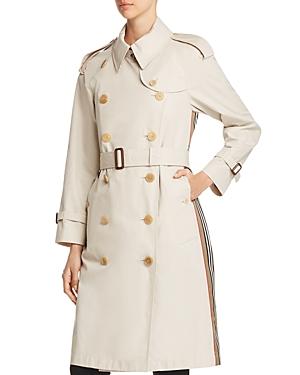 Burberry Clothing TRECASTLE STRIPE TRENCH COAT