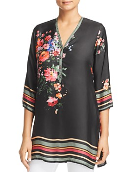 ba2cbc57c5e Johnny Was - Resort Floral Silk Top ...