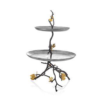 Michael Aram - Butterfly Ginkgo 2-Tier Etagere