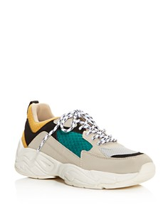Kendall + Kylie - Women's KK Focus Low-Top Dad Sneakers