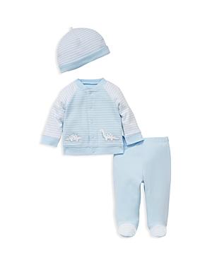 Little Me Boys Dainty Dinos Take Me Home Hat Jacket  Leggings Set  Baby