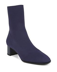 Via Spiga - Women's Verena Stretch Knit Sock Booties