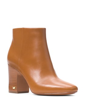 MICHAEL Michael Kors - Women's Elaine Leather Booties
