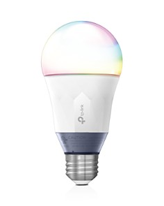 TP-Link - Kasa Smart Wi-Fi LED Light Bulb, 60W Equivalent - Multicolor