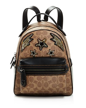 b5d16d15a75 ... germany coach rainbow stud crystal embellished signature coated canvas  campus backpack 23 100 914e1 6af6b