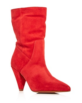 Kenneth Cole - Women's Labella Suede High-Heel Booties