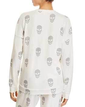 PJ Salvage - Simple Skull Long Sleeve PJ Top