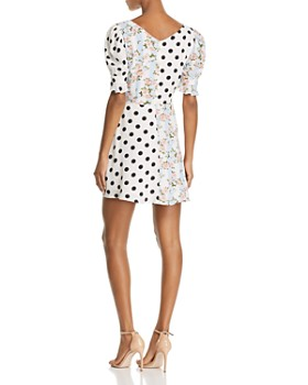 For Love & Lemons - Savannah Printed Mini Dress