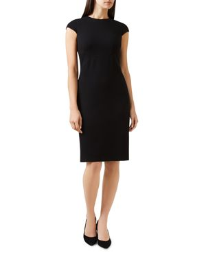 KIRSTY PIQUE SHEATH DRESS
