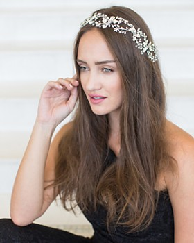 Brides and Hairpins - Mila Halo Headpiece