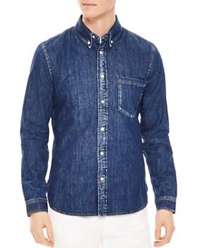 Sandro - Heritage Raw Slim Fit Button-Down Shirt