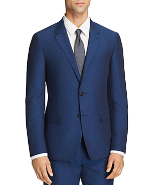 Theory Tailored Linen Blend Slim Fit Suit Jacket