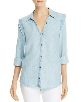 PAIGE - Alia Chambray Shirt