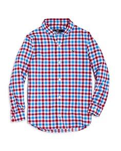 Vineyard Vines Boys' Gingham Performance Shirt - Little Kid, Big Kid - Bloomingdale's_0