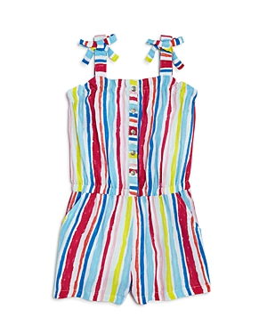 Design History Girls' Striped Romper - Little Kid