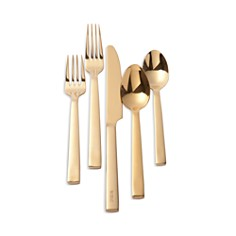 Ralph Lauren Academy Gold 5-Piece Place Setting - Bloomingdale's_0
