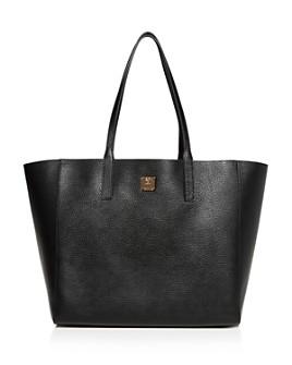 MCM - Wandel Medium Reversible Leather Shopper