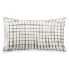 "Hudson Park Collection Seed Stitch Trellis Decorative Pillow, 12"" x 22"" - 100% Exclusive - Bloomingdale's_0"