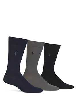 Polo Ralph Lauren - Super Soft Flat Knit Socks - Pack of 3
