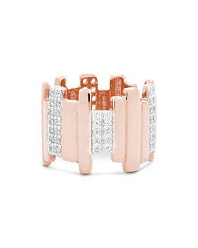 Freida Rothman - Radiance Staggered Band Ring